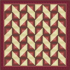 If you have time for a longish break today you can examine a Log Cabin quilt design or two. Maybe more. Firstly, make 64 Log Cabin blocks. Then play! Most of the designs shown here have been made o...