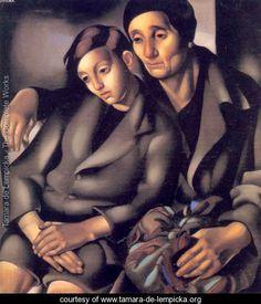 The Refugees, 1931 - Tamara de Lempicka