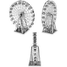 ferris wheel free 3D model Ferris Wheel.obj vertices