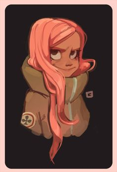 Lola was tiny girl with pink hair.She always wore an over sized army jacket.
