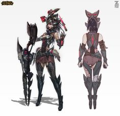 Caitlyn Headhunter Official Concept Zeronis by Zeronis.deviantart.com on @deviantART