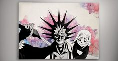 Watercolor print, Products and Manga on Pinterest