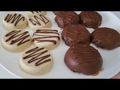 Ak máte múku, maslo a cukor, pripravte si tento dezert! TAK ĽAHKÉ A CHUTNÉ # 320 - YouTube Cake Factory, Butter, Biscotti, Cake Pops, Muffin, Sugar, Candy, Cookies, Baking