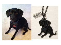 Custom+Pet+Necklace+Hand+Drawn+Pet+Portrait+by+PeriwinkleNuthatch,+$43.00