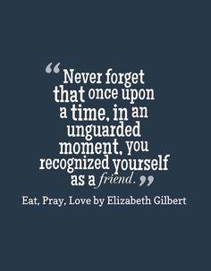 "Elizabeth Gilbert, ""Eat, Pray, Love"""