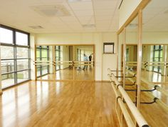 An image of a dance studio Milbank Architects designed for a School in County Durham Ballet Room, Ballet Studio, Home Dance Studio, Dream Studio, Yoga Studio Design, Gym Design, Gym Room, Dance Academy, Dance Rooms