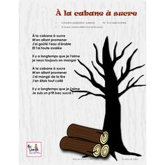 Chante et danse au printemps, vol. French Teaching Resources, Teaching French, Core French, French Class, Winter Activities, Preschool Activities, Sugar Bush, Sensory Bottles, French Teacher