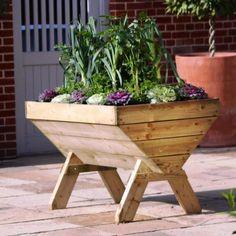 Best Wooden Planters Plans | Landscape Garden Ideas