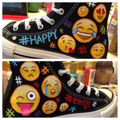 Custom Cartoon Converse Despicable Me, Unique Birthday Gift