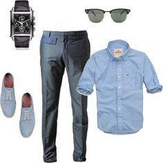 """Men's Casual Outfit"" by beng-gallo on Polyvore"