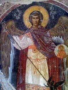 Saint Michael by dimitriskoskinas