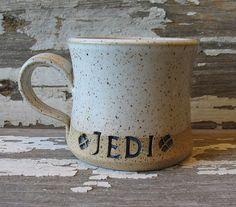 JEDI Mug - Handmade Pottery Mug - Stoneware - Star Wars Inspired