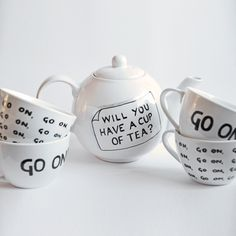 Mrs Doyle Tea Set