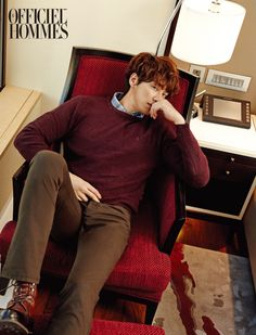 Kim Young Kwang L'Officiel Hommes Korea Magazine October Issue Korean Wave, Korean Star, Korean Men, Asian Actors, Korean Actors, Dramas, Can We Get Married, Kim Young Kwang, Ryu Jun Yeol