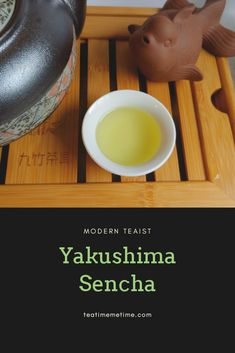 I heated my water to and let it sit for about 45 seconds. The sweet umami aroma that greeted my as my tea brewed was surprising. Yakushima, Types Of Tea, Brewing Tea, Me Time, Latte, Modern, Food, Tea Types, Trendy Tree