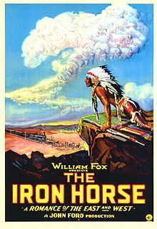 The Iron Horse (1924). D: John Ford. Selected in 2011.