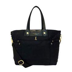 689ff13e9bcc Marc Jacobs Eliz-A-Baby Large Tote Diaper Bag Black Diaper Bag