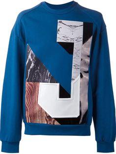 Juun.j Marble Print J Sweatshirt - Luisa Boutique - Farfetch.com