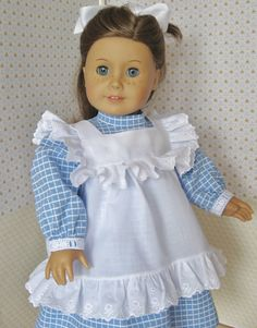 Play Dress and Pinafore for American Girl Doll от MyAuntGinny