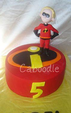 Disney pixar incredibles cake. Werner soek so koek as hy 5 word