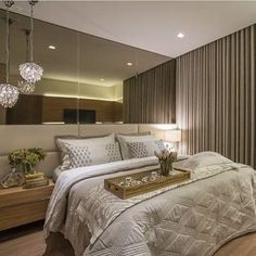 Home Decorating Ideas Kitchen and room Designs Luxury Bedroom Design, Master Bedroom Design, Modern Bedroom, Interior Design Living Room, Bedroom Furniture, Bedroom Decor, Elegant Home Decor, Suites, Luxurious Bedrooms