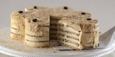 "Coffee cake lovers- here's one for you. We all know Tiramisu, but have you heard of the heavenly ""Bolo de Bolacha""? Literally translated as ""biscuit cake""."
