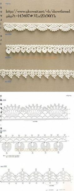 Crochet Lace Edging More by coleen