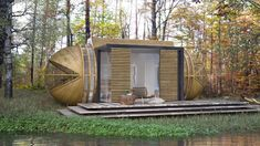POP-UP CABIN CAN BE INSTALLED ANYWHERE FOR AN IMPROMPTU GETAWAY [VIDEO]