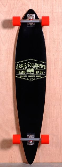 The Arbor Timeless Pin Reclaimed Longboard Complete Is Designed For Carving  And Cruising. Ships Fully