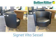 """""""Schnäppchen bei Betten Ritter"""" Heute der Signet Vito Sessel Der futuristisch anmutende VITO Stuhlsessel von Signet Wohnmöbel beeindruckt durch seine hohe Variabilität. So gibt es eine Wippfunktion, die zum Zurücklehnen und Nachdenken animiert. Zum Schnäppchen: https://www.bettenritter.com/Signet-Vito-Sessel"""