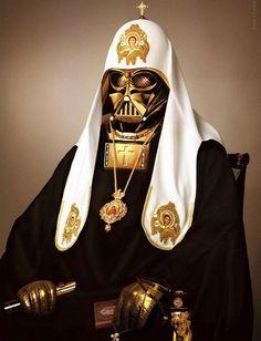 Pope Vader by Dmitry Dyachkov #fanart
