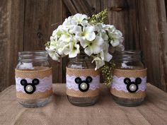 Disney Wedding Centerpiece Mickey Mouse By Themarrymakingmouse