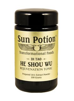 Sun Potion He Shou Wu Root Extract - International Orange