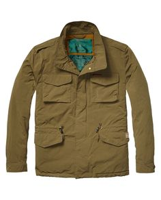 Military Jacket > Mens Clothing > Jackets at Scotch & Soda