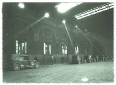 1936 , Porta Nuova , atrio della stazione , Torino Fotografia : Mario Gabinio.