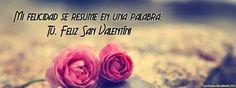 Portadas deSan Valentin  para Facebook