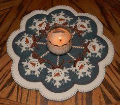 Frosty Pops pattern by Penny Lane Primitives