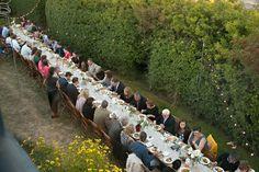 Reception Dinner.  www.WhidbeyWedding.com