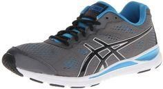 a96527183883 ASICS Men s GEL-Storm 2 Running Shoe Seamless upper construction Padded  collar and tongue EVA foam midsole Removable sockliner accommodates  orthotics ...