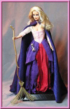 Barbie Repaint - Sarah Hocus Pocus