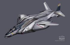 ArtStation - Halo 3 Spaceship designs and discards, Isaac Hannaford