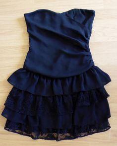 Sukienka elegancka czarna  rozmiar 36
