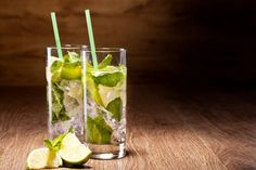 On a hot summer day, we think you'll enjoy this non-alcoholic mojito that combines all of the flavors of the original without the spirits!