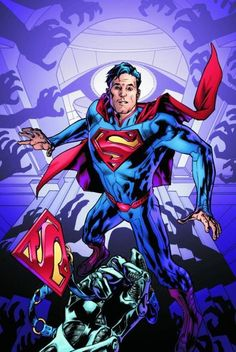Action Comics #13 cover by Bryan Hitch