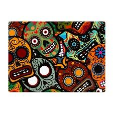 Day of the Dead Glass Cutting Board