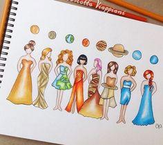 Planet dresses...