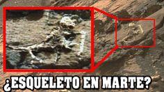 Imagen de NASA muestra un esqueleto extraterrestre en Marte | VM Granmis...