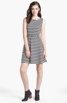 Love this chevron skater dress!