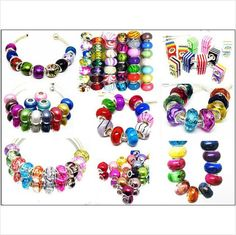 Set of 10 Beads with Assorted Colors & by MarysRingsAndThings, $5.00