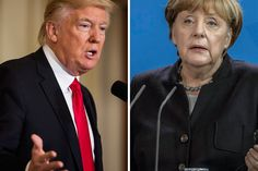 Trump to Speak With Merkel After a Campaign's Worth of Criticism - NBC News